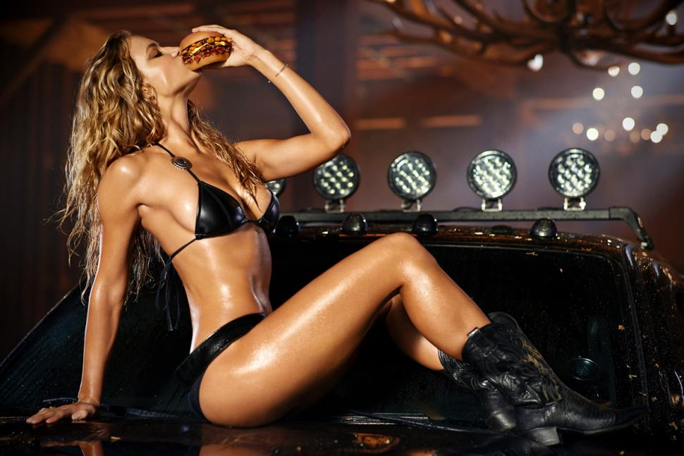 Hannah Ferguson :: Courtesy of Carl's Jr.