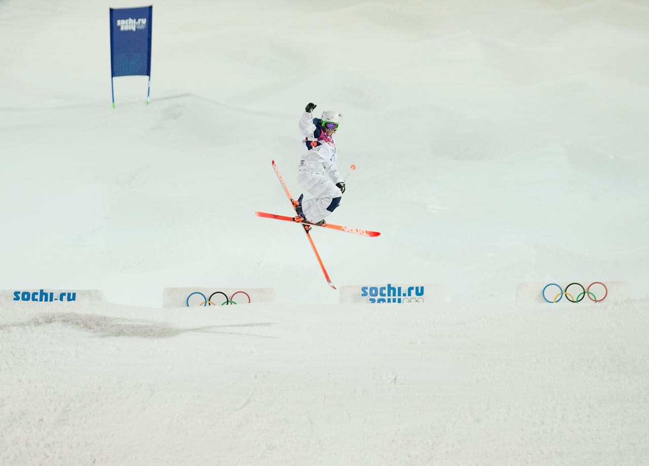 Bronze: Women's Moguls