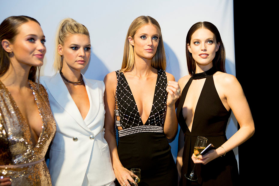 Hannah Davis, Kelly Rohrbach, Kate Bock and Emily DiDonato :: Photo by Taylor Ballantyne