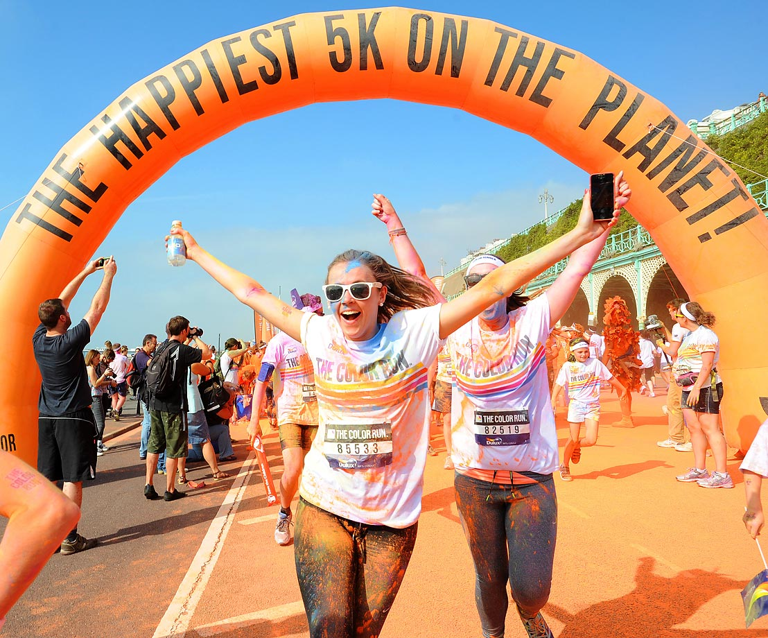 The Happiest race on the planet took place on Sept. 20 in Brighton, England.