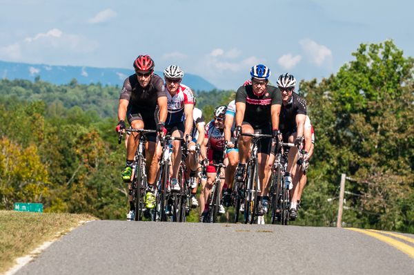 "One of the biggest perks of Hotel Domestique is the ability to ride with Hincapie on his old training grounds at the base of the foothills of the Blue Ridge Mountains, and as he puts it, ""people can come in and live like a pro cyclist for a few days."""
