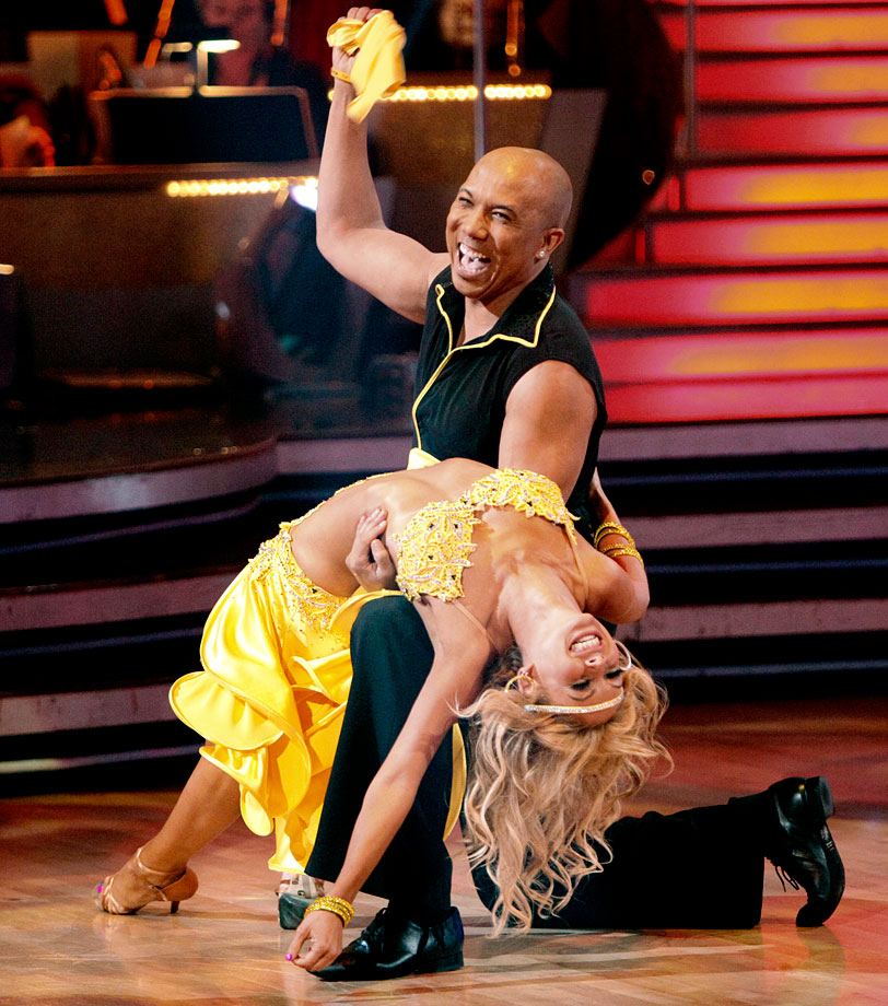 Pittsburgh Steelers wide receiver Hines Ward won with dancing partner Kym Johnson in Season 12.