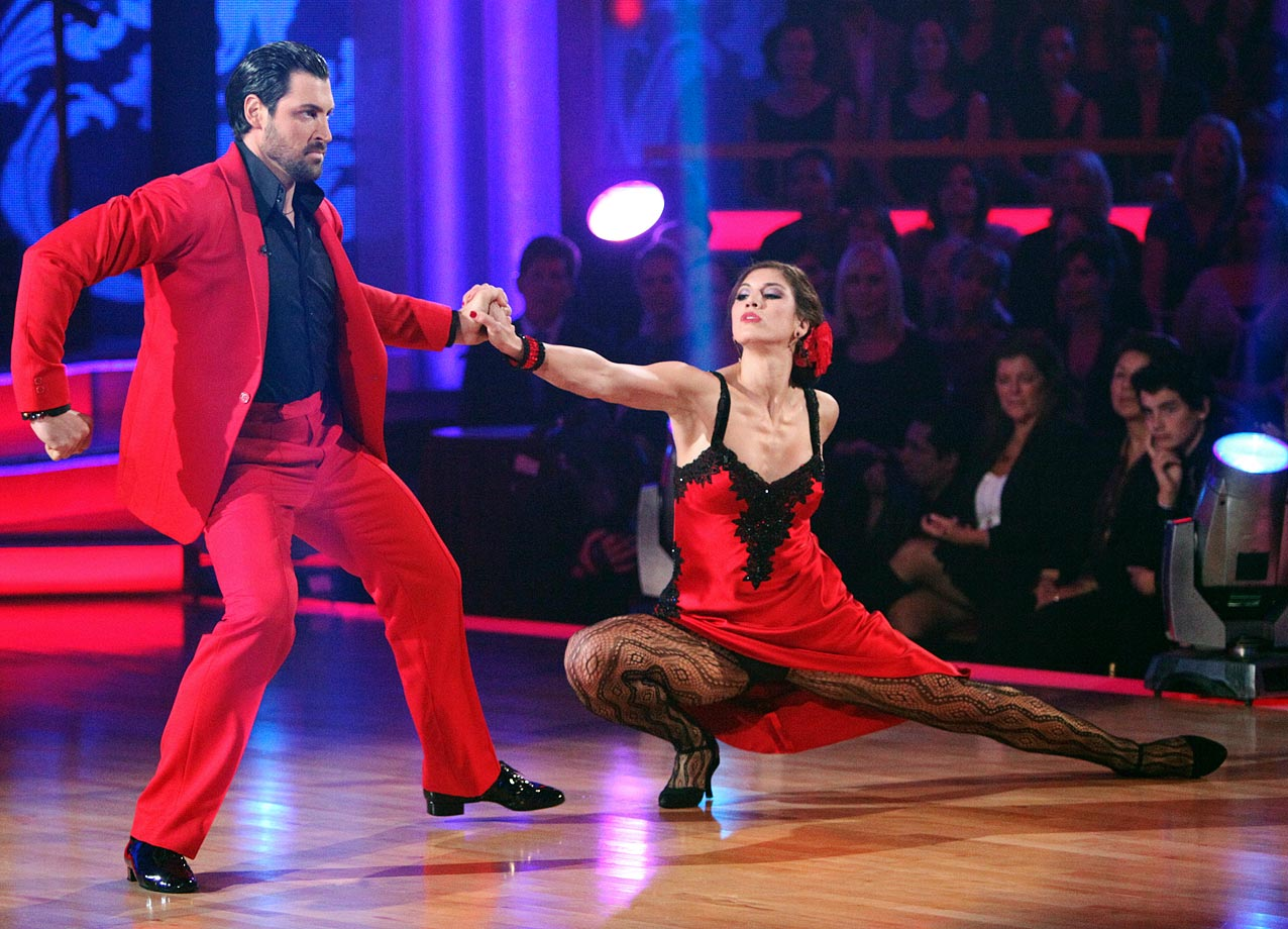 Soccer goalkeeper Hope Solo finished in 4th place with dancing partner Maksim Chmerkovskiy in Season 13.