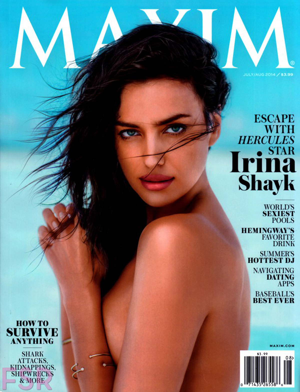 Maxim US, July/August 2014