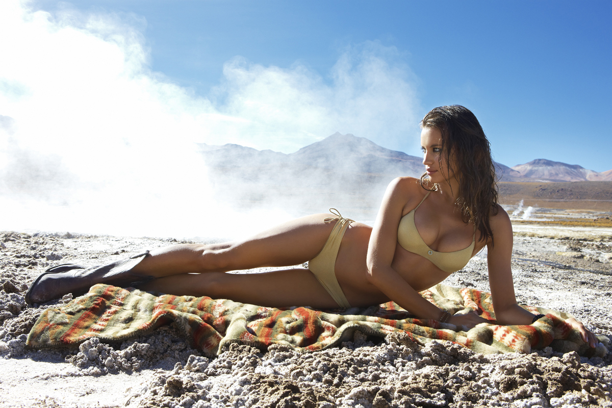 Irina Shayk :: Chile, SI Swimsuit 2010