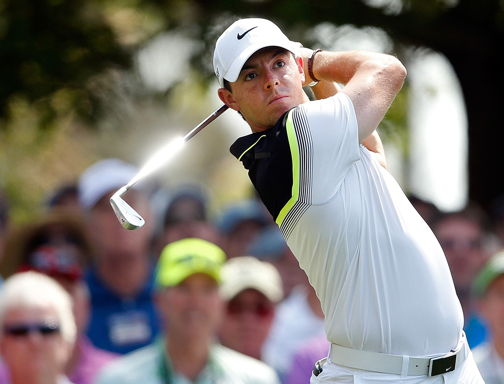 One of the biggest names on the PGA Tour, McIlroy is from Northern Ireland.