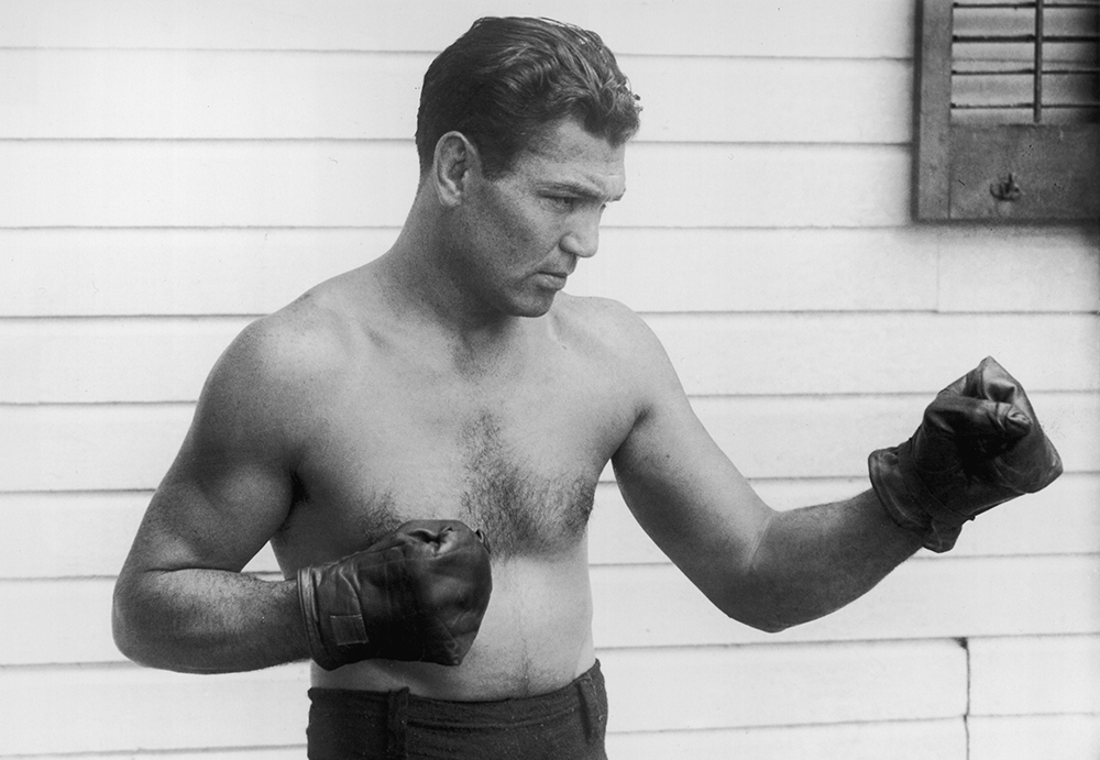 Boxing in the early 20th century was dominated by Irish fighters, and that included Jack Dempsey. The world heavyweight champ from 1919-1926, Dempsey came from a family with a diverse lineage: he was part Irish, part Cherokee, and part Jewish.