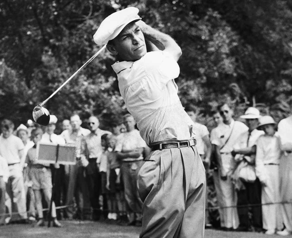 Another icon of early 20th century American sports, Hogan revolutionized golf by focusing on something new: swing theory. His approach to the game earned him nine Majors and 241 top 10 finishes in 292 career events. He credited his competitive spirit to his Irish heritage, which he got from a grandfather who came to the US from Ireland in the mid-1800s.
