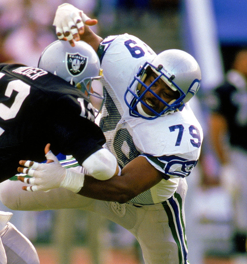 Green, a defensive end, was drafted with the 10th overall pick in the 1980 NFL Draft and lived up to the hype. An impressive pass rusher, Green finished his career with 97.5 sacks, the most ever accumulated by a Seahawk. From 1983 to 1986, Green recorded at least 12 sacks each season.
