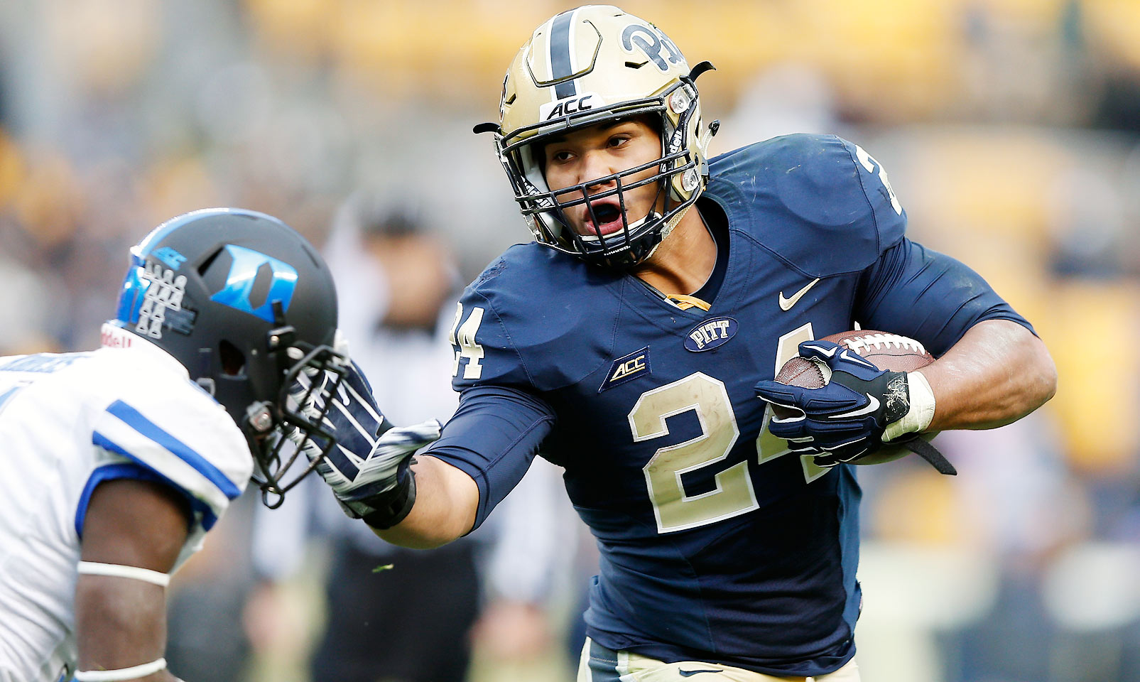 Conner established himself as a workhorse back for the Panthers in 2014, carrying the ball 298 times fore 1,765 yards with 26 touchdowns. He's in line for more opportunities to run the ball this upcoming season.