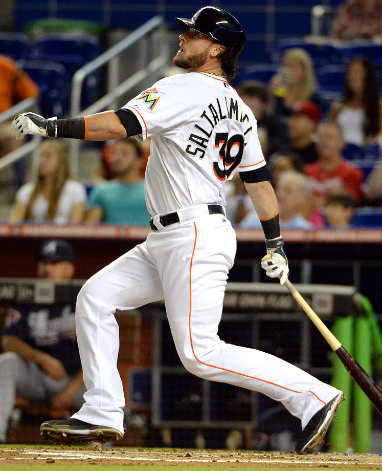 Used in a sentence: Saltalamacchia boasts the longest last name in MLB history, with 14 characters.
