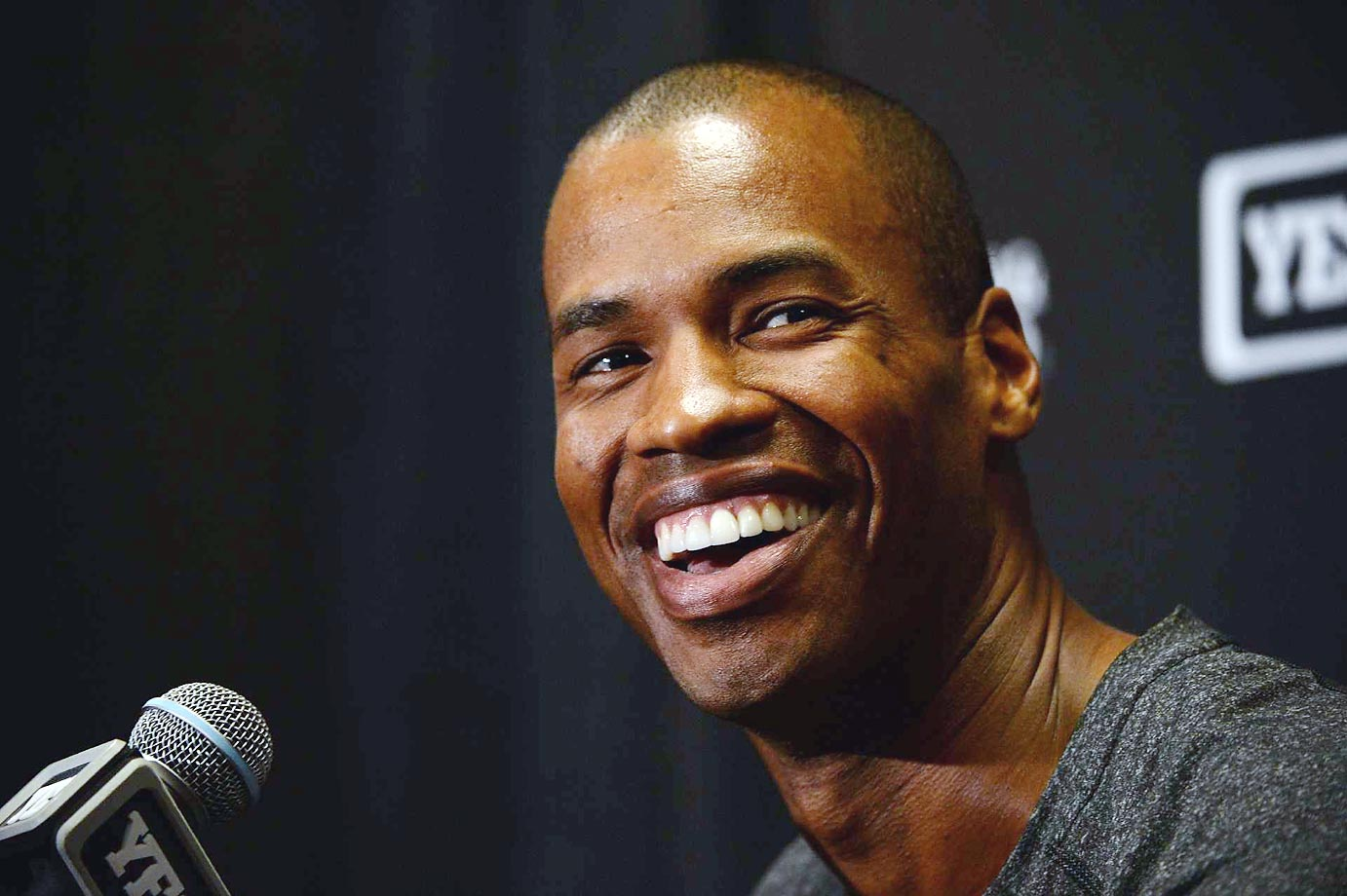 Jason Collins, the first openly gay man to play in the NBA, announced his retirement from the league on Nov. 19, 2014. He finished his career with 359 blocks, 2,706 rebounds and 2,621 points after being drafted 18th overall by New Jersey in 2001.