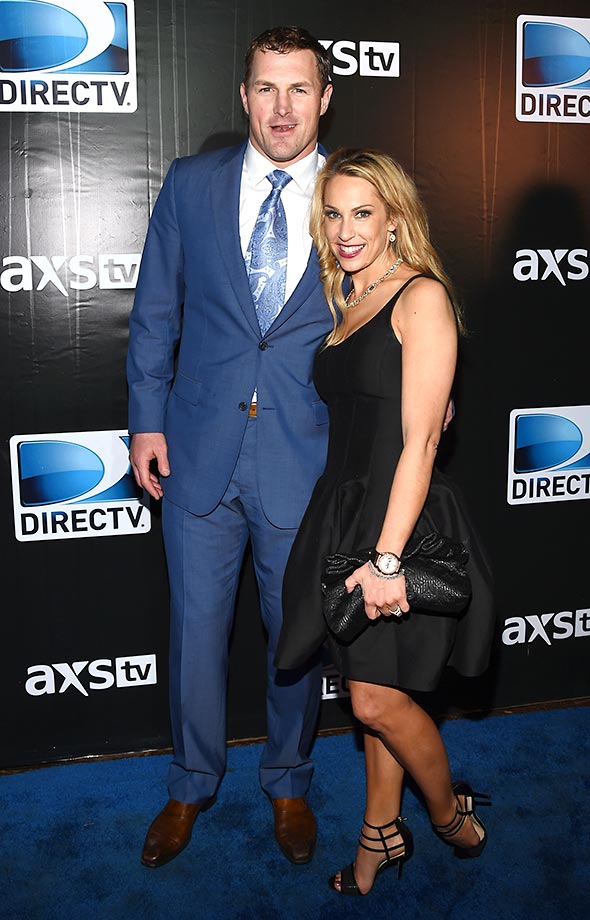 Witten and his wife Michelle.