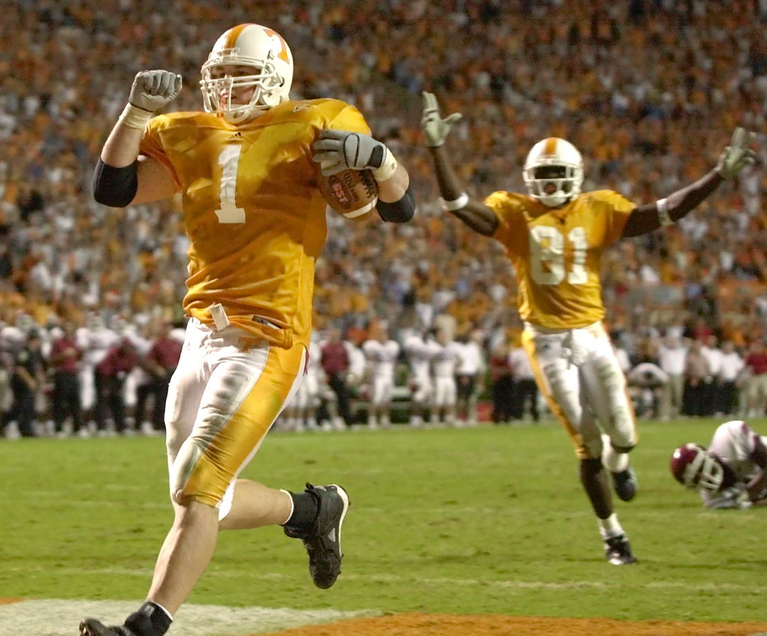 Witten during his college days at Tennessee.