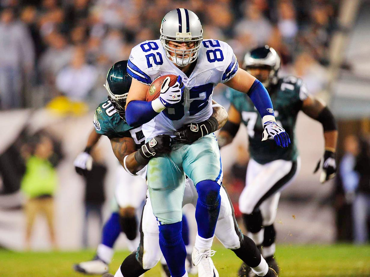 Witten and the retired Tony Gonzalez are also the only tight ends in NFL history with over 10,000 yards receiving.