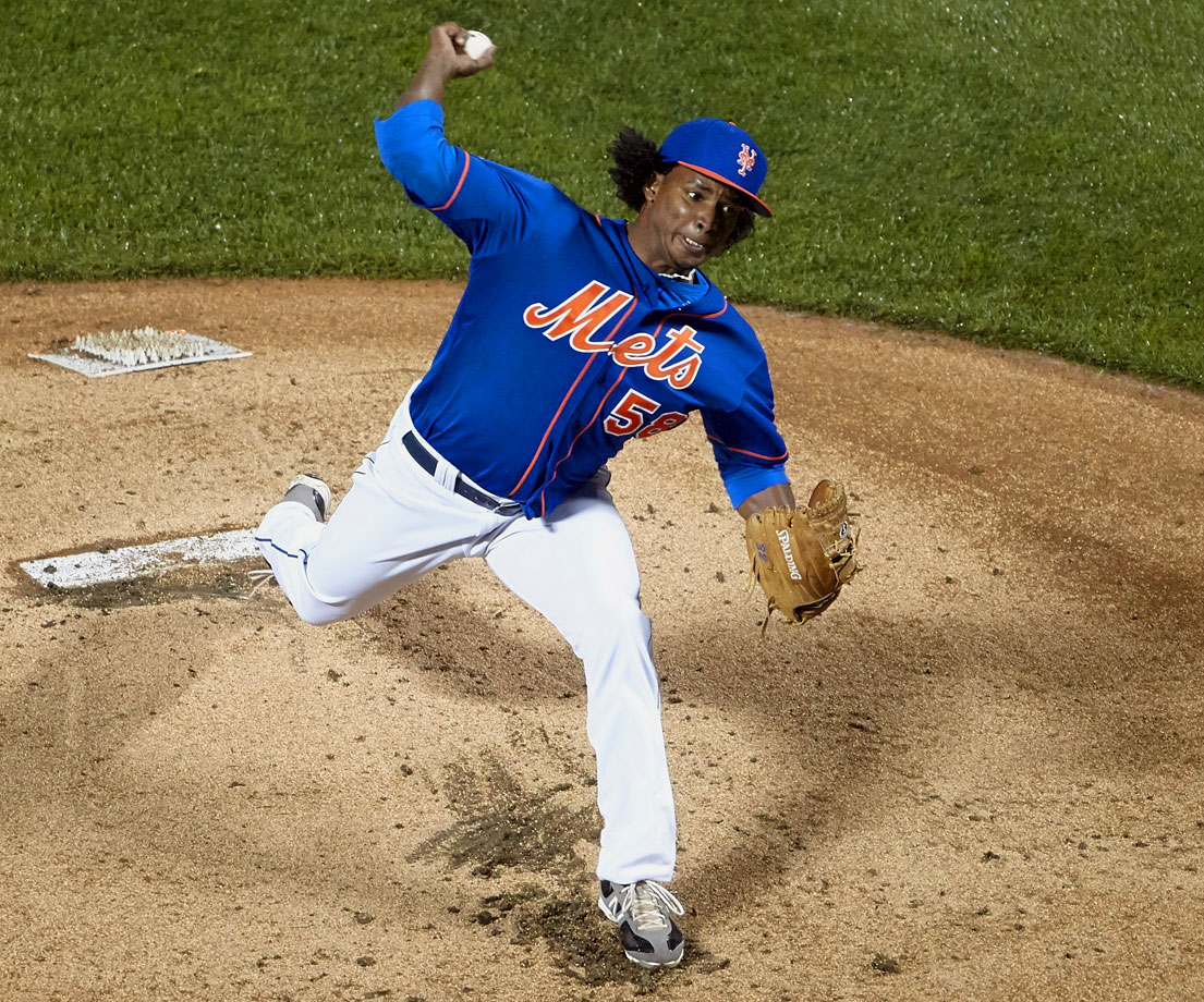 Used in a sentence: Jennry Mejia received an 80-game suspension after testing positive for Stanozolol.