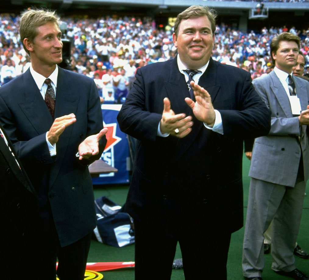 Canadian comedian John Candy became a part owner of the Toronto Argonauts in 1991, alongside hockey great Wayne Gretzky and sports executive Bruce McNall. The trio of owners led the Argonauts through a stellar season and to the 1991 Grey Cup.