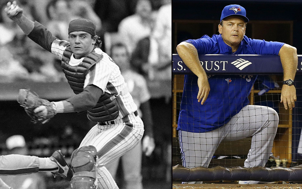John Gibbons only played 18 games in Major League Baseball -- all for the New York Mets -- but his managerial career has already lasted much longer. He took over as Toronto manager in 2004 in the middle of the season and coached the team for five years before he was fired in 2008. He returned to a revamped squad in 2013 with high expectations, but the Blue Jays only finished 74-88. The team did improve to 83-79 in 2014.