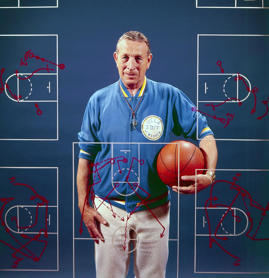 Wooden's most famous basketball innovation, the 2-2-1 zone press, was actually developed by assistant Jerry Norman, who coached UCLA's freshman team. They employed it as a way to beat rival Pete Newell, who played ball-control offense. But Wooden's most lasting innovations are in his team-building, leadership and development. Sports programs and business lessons alike rely on lessons from Wooden to this day.