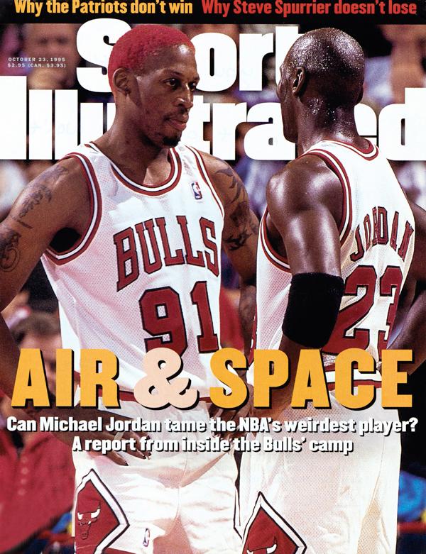 Dennis Rodman and Michael Jordan (1995)