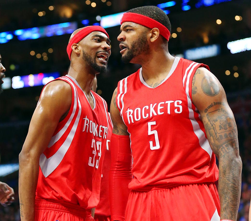 Josh Smith and Corey Brewer
