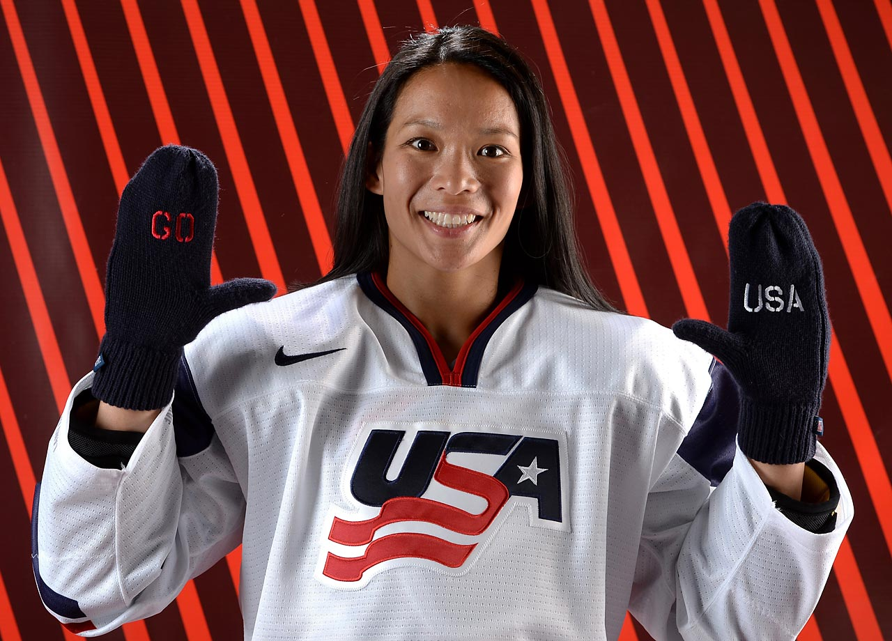 Playing in her fourth Olympic games, the forward is aiming for her first Olympic gold. She's been close before: Her last three Olympic squads won silver, bronze and silver. Julie Chu's Facebook page.