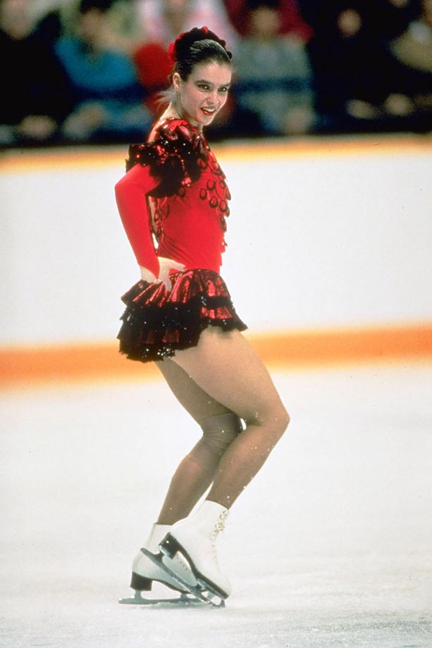 The first female figure skater to earn back-to-back Olympic gold medals since Sonja Henie, Katarina Witt's incredible talent was undeniable from the very first time she took to the ice at the age of 5. In 1984 at Sarajevo the United States' Rosalynn Summers was the uncontested favorite, but after landing three triple jumps and pulling ahead by just one-tenth of a point, Witt swooped in to win the gold. She went on to defend her title at the 1988 Winter Games and has also won six consecutive European Championship titles, another accomplishment that she shares solely with Henie. --  Katie Rosenbrock  (SEE THE COMPLETE LIST OF 50 AT THEACTIVETIMES.COM)