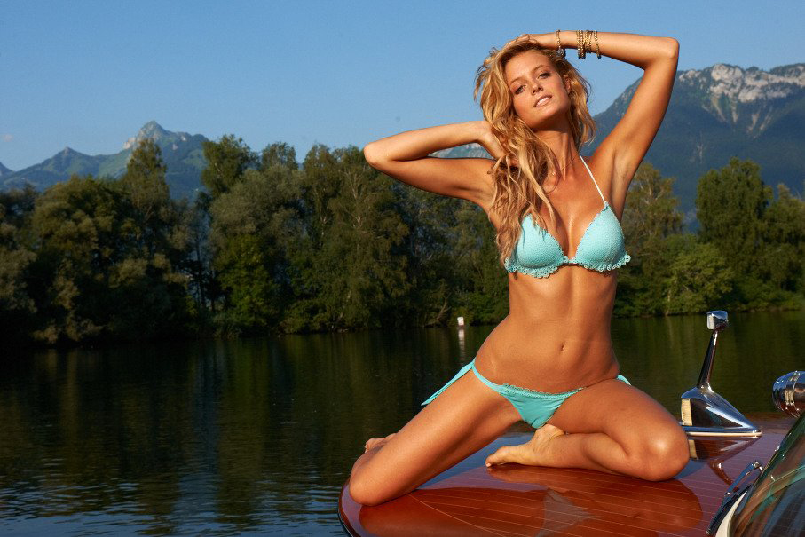 SI Swimsuit 2014: Kate Bock's Switzerland outtakes