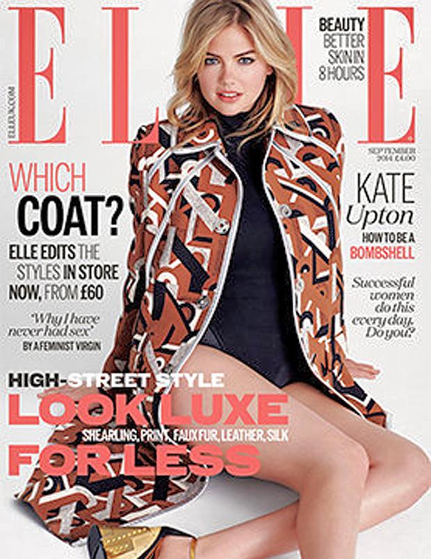 Kate Upton for ELLE UK, September 2014