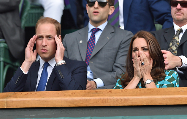 Prince William definitely has a case of the stress migraine. As a blogger, I can relate.