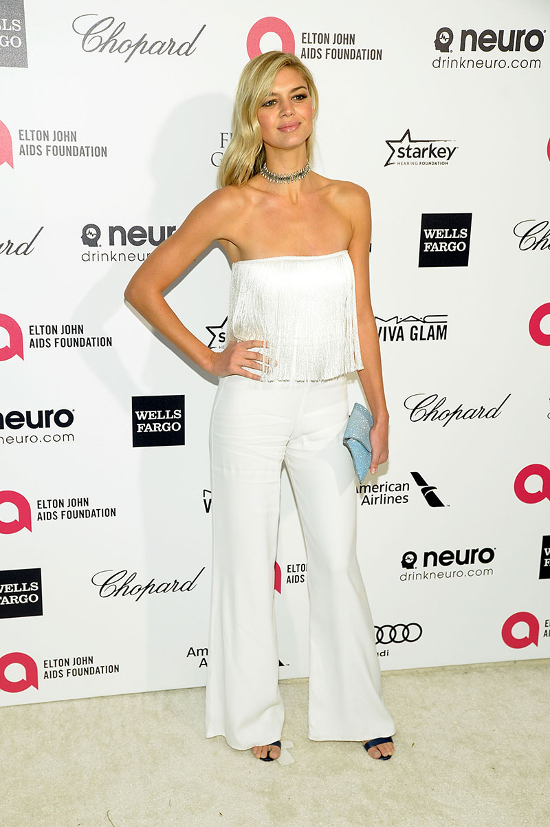 Kelly Rohrbach attends the Elton John AIDS Foundation's 23rd annual Academy Awards Viewing Party