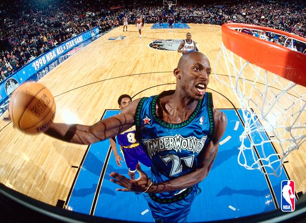 Kevin Garnett (2000) :: Getty Images