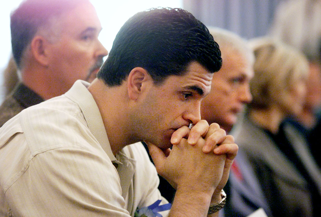 The New York Rangers winger, an alternate captain and popular family man, was busted at a grimy Collinsville, Ill., motel in January 2000 for soliciting a prostitute and possessing drug paraphernalia as well as the remains of a crack eight-ball. He faced a felony drug charge and later entered the NHL's substance abuse program. After two months in rehab, the drug charge was dropped.