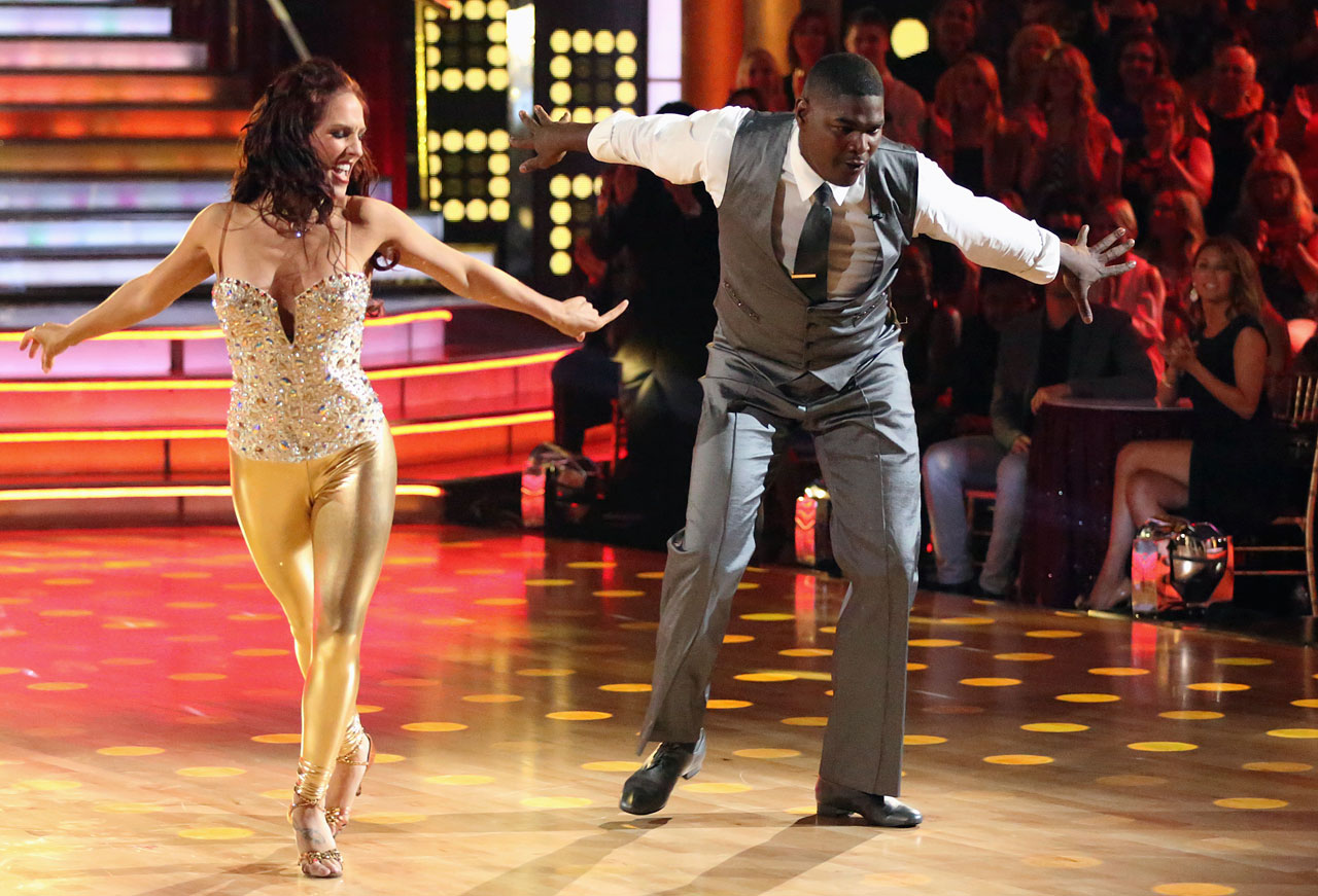 Retired NFL wide reciever and ESPN commentator Keyshawn Johnson finished in last place with dancing partner Sharna Burgess in Season 17.