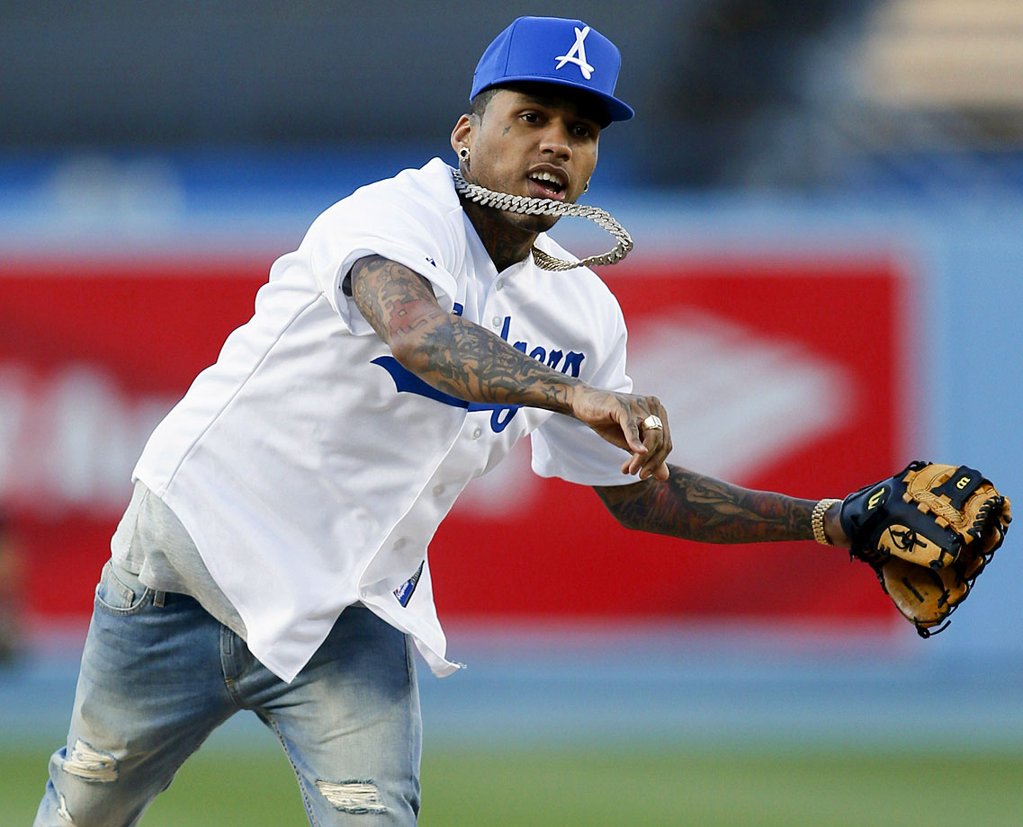 May 9 at Dodger Stadium in Los Angeles