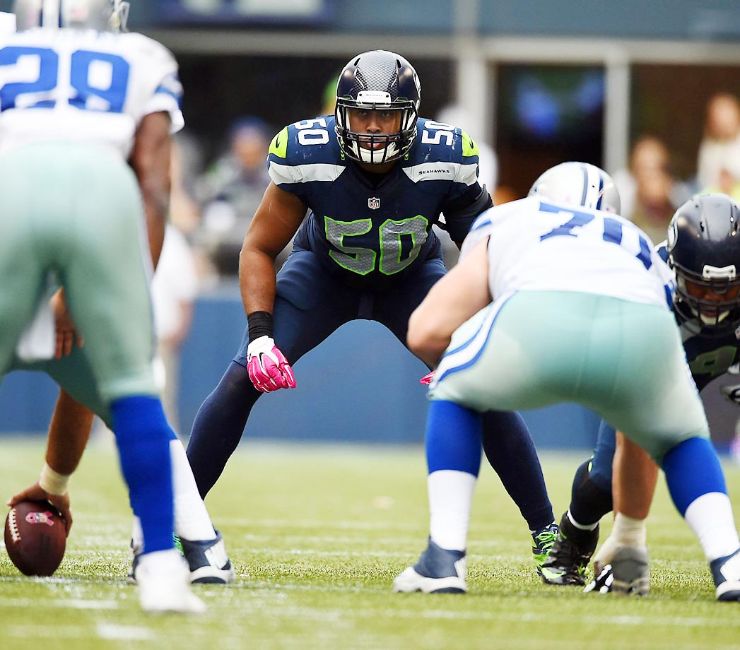 Remember Aaron Curry, the Wake Forest linebacker taken with the 4th overall pick by the Seahawks in 2009? Kenneth Bernard Wright Jr.  is the guy that officially replaced him.