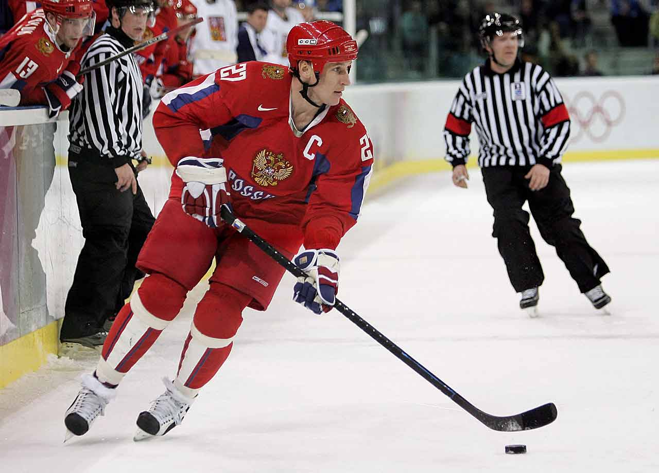 Kovalev was a dazzling and frustrating player, one whose individual skills often left fans and coaches wanting more. He won a Stanley Cup in his second season with the Rangers (who in 1991 had made him the first Russian ever to be drafted in the first round). He finished his NHL career with 430 goals and 1,029 points, as well as 100 points in the post-season. But many critics felt that he never quite had the discipline to reach the greatness that was within his grasp. He was known for overhandling the puck and, sometimes beating the same player two or three times before eventually turning the puck over. -- Brian Cazeneuve