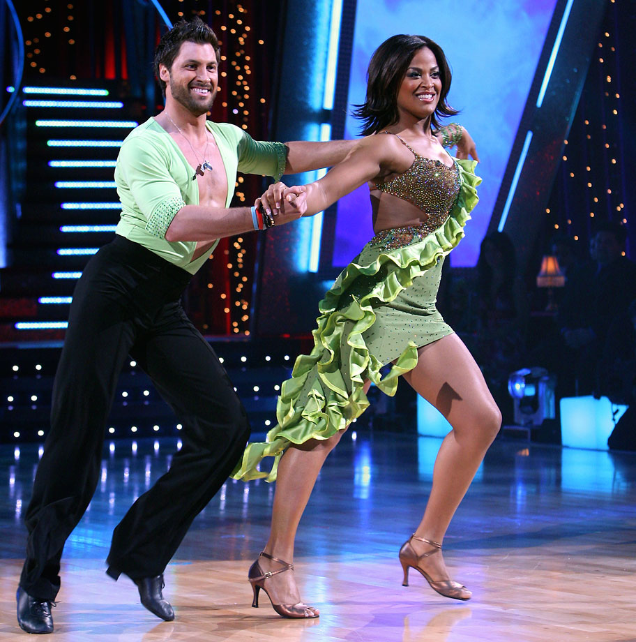 Retired professional boxer Laila Ali finished in 3rd place with dancing partner Maksim Chmerkovskiy in Season 4.
