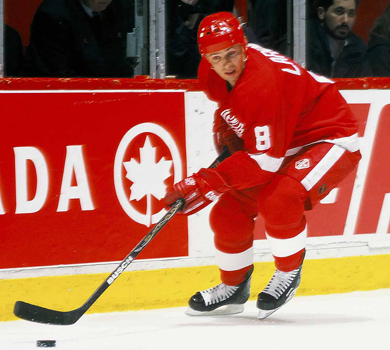 As one of the Red Wings' Russian Five, the brainy Larionov was highly respected for adapting his game to the NHL better than any former Soviet player. At 5-9, 175 pounds, he made the most of his size, and was a deft passer. He played until he was 43, winning two Olympic gold medals and four world championships. Larionov, who lives in the Detroit area, now works as a player agent and serves on the selection committee for the Hockey Hall of Fame, into which he was inducted in 2008. -- Brian Cazeneuve