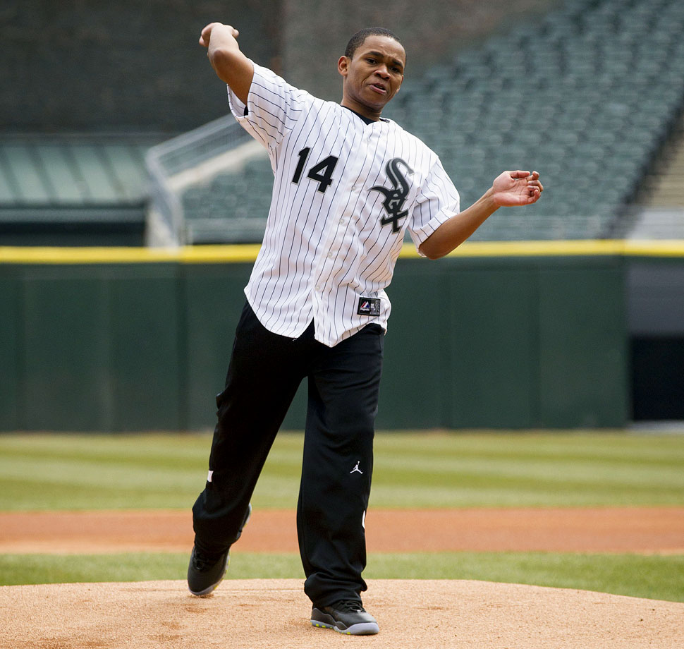 April 2 at U.S. Cellular Field in Chicago