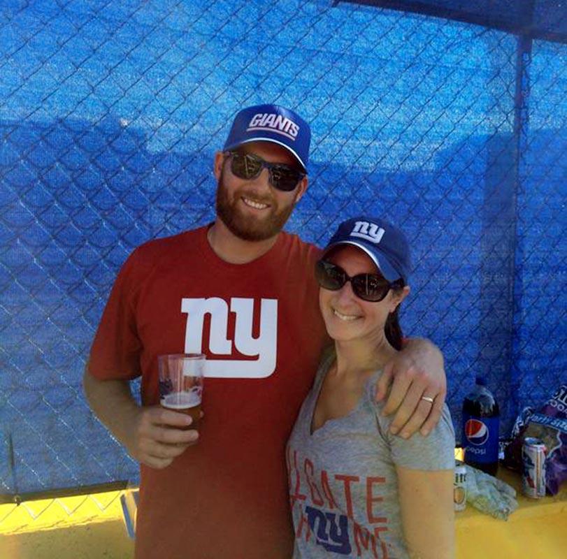 We love the @Giants! Go Big Blue!   #myNFLFanStyle @SInow