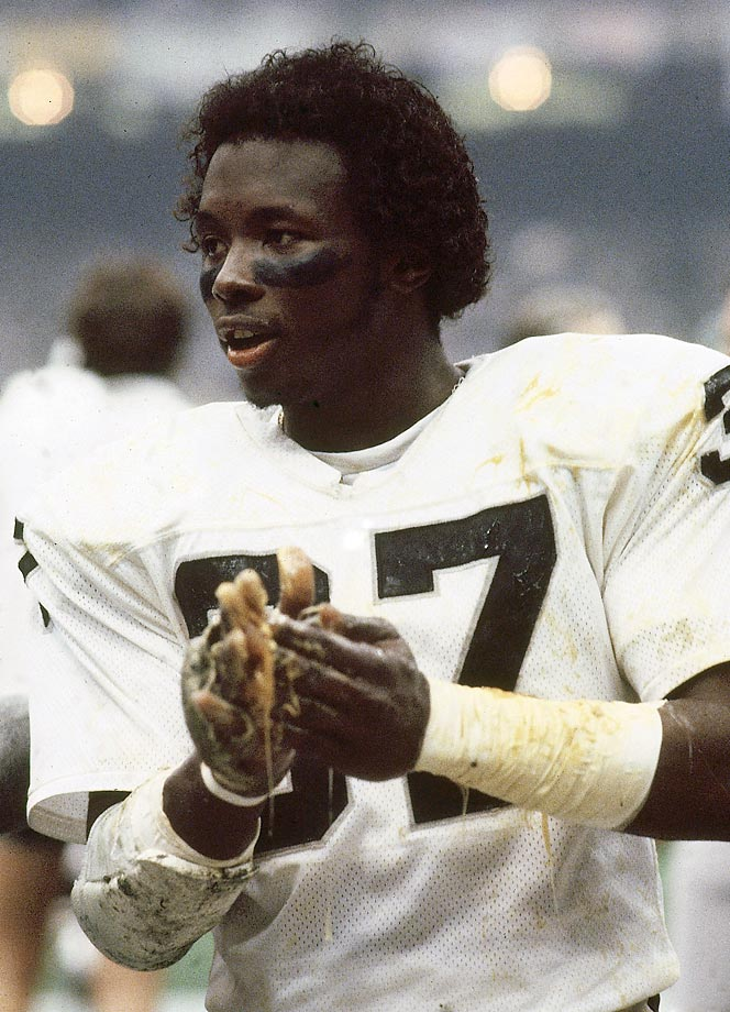 Lester Hayes used so much Stickum on his hands in the late '70s and early '80s that the NFL banned sticky substances in 1981.