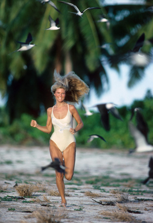 Christie in the Seychelles, 1979