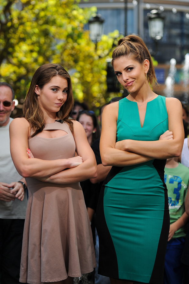 Maria Menounos and McKayla Maroney :: Getty Images