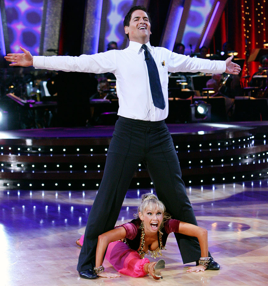 Dallas Mavericks owner Mark Cuban finished in 8th place with dancing partner Kym Johnson in Season 5.