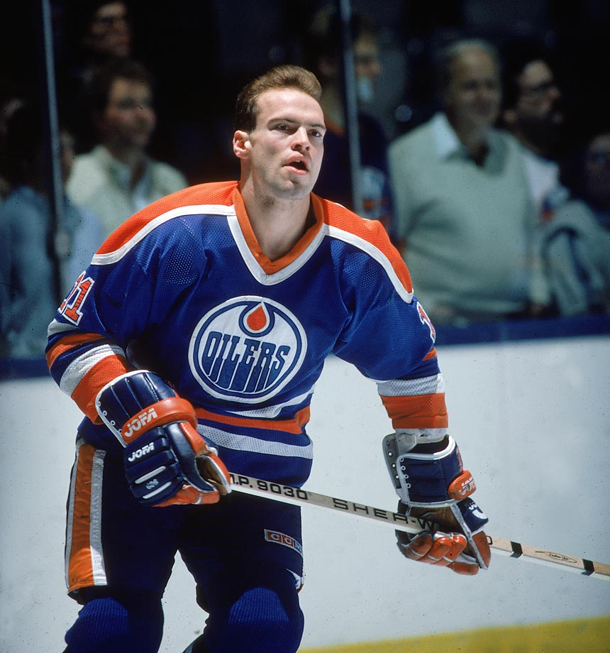 In January 1985, the NHL banned the Oilers star for 10 games for fracturing Jamie Macoun's cheekbone in two places during a retaliatory attack after the Flames defenseman boarded him. The previous season, Messier had been suspended six games for clubbing Vancouver's Thomas Gradin in the head with his stick.