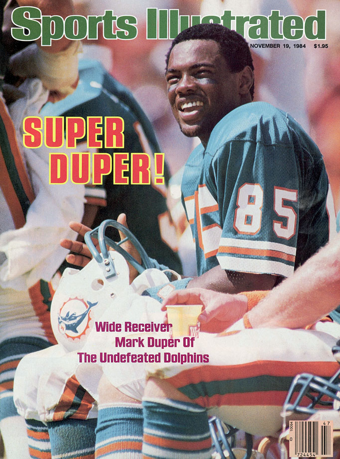 Let's face it: Mark Duper was going to be called as much anyway. In 1985, the three-time Pro Bowl receiver and favorite target of Dan Marino legally adopted his lifelong nickname, though he swore it wasn't a matter of ego. ''I don't want anyone to think I'm trying to be Mr. Big,'' Duper said.