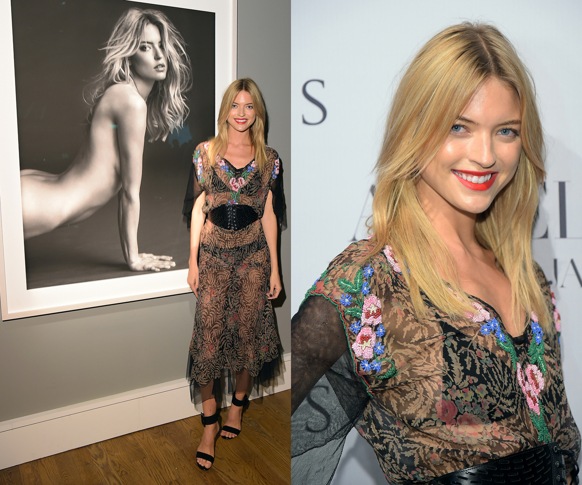 Swimsuit '15 contender Martha Hunt at 'Angels' release party