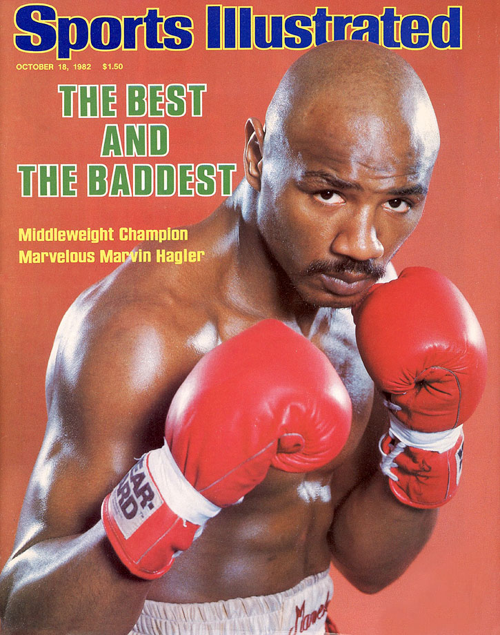 One of history's best middleweights famously felt unappreciated by the media. Solution? In 1982, Marvin Hagler legally changed the first word of his name to ''Marvelous,'' coercing the praise from talking heads that his 52 career KO's left wanting