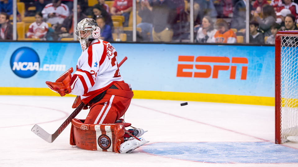 Bu Netminder Proves Mentality Is Key For Hockey Goalies At All Levels